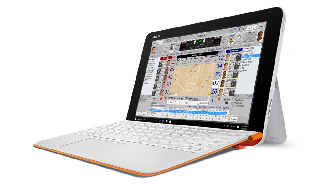 TurboStats for Basketball on Asus Tablet