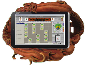 Optional Palm Software for Live Game Scoring