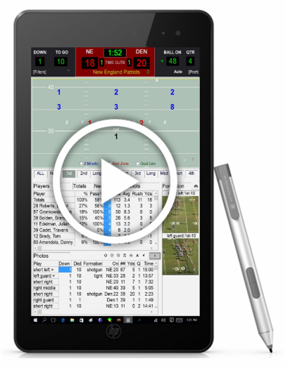 Football Instant Scouting Software