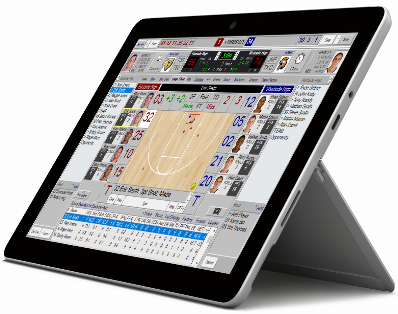 Basketball scoreboard standard registration password